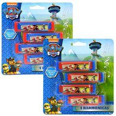 Paw Patrol Mini Harmonicas (4 Pack)