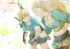 The Legend of Zelda | Breath of the Wild | Link and Zelda