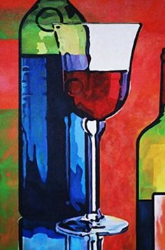 wine glass fine art print from original acrylic painting wine bottle giclee fine art wine print wine bottle Wine Painting, Painting Frames, Wine Wallpaper, Painted Wine Bottles, Wine Art, Vintage Wine, Beautiful Paintings, Giclee Print, Fine Art Prints