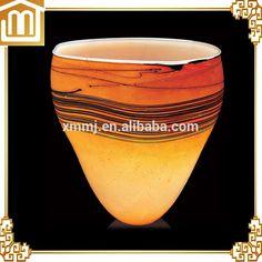 large glass vase Large Glass Vase, Murano Glass Vase, Glass Chandelier, Glass Art, Creative Arts And Crafts, Xiamen, Ceramics, Shapes, Unique