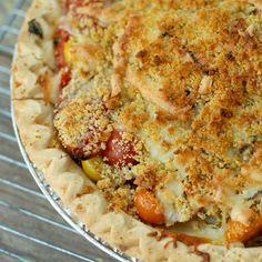 Fresh Savory Tomato Pie: My All Time Favorite Summertime Recipe | Boulder Locavore