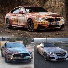 Bmw M4 / Ford Mustang / Mercedes-Benz E Coupe // Rust Wrap (Eskitme) #music #feel #gold #money #winter #gmg #gmggarage #ankara #turkey #love #makeup #turkey #ankara #rust #exculsive#high#white #rich #black #life #live #world #game #c #benz #makeup #dubai #game #cars #new #feel #m4 #snow