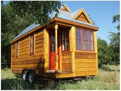 Tumbleweed Houses  A great idea in a small package! I would love to have one of these as a summerhouse!