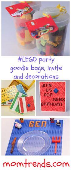 #lego themed birthday party ideas