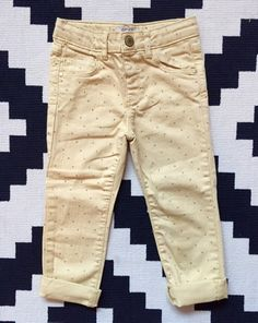 Check out this listing on Kidizen: Zara Yellow Star Pants  via @kidizen #shopkidizen