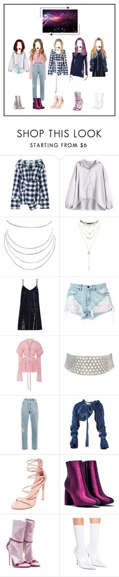 """""""KPOP GIRL GROUP"""" by beyzalwaysperf ❤ liked on Polyvore featuring Off-White, Puma, Humble Chic, Charlotte Russe, CO, Ashish, Alexander Wang, Rosie Assoulin, Marina J. and RE/DONE"""