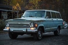 1972 Wagoneer with low miles.