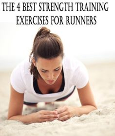 The 4 best strength training exercises for runners.