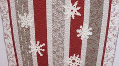 Moda Winter's Lane Snowflake Christmas Quilt | Diane Woodward