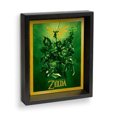 Legend of Zelda Lenticular 3D Link - Exclusive | ThinkGeek | I want this for my birthday! This. Is. All. I. Need.