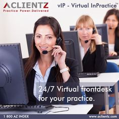 24/7 Virtual front desk for your practice @ just $250/month.  #dental #marketing #virtualassistant