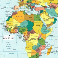 Liberia On Africa Map.57 Best Liberia For Kids Images Africa Liberia West African