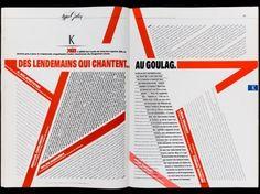#editorial #design #print