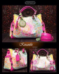 Love this bag so much. Made from Batik Hokontul (batik designed by Bayu Aria) and bag designed from Binar (Luisa Binar).