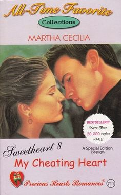 Rating: My Cheating Heart (Sweetheart, by Martha Cecilia, 4 Sweets; Challenges: Book for Book for Off The Shelf! Book for Pocketbook Free Romance Books, Free Books To Read, Novels To Read, Romance Novels, Wattpad Books, Wattpad Stories, Free Novels, Pocket Books, Wattpad Romance