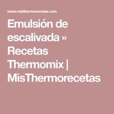 Emulsión de escalivada » Recetas Thermomix | MisThermorecetas