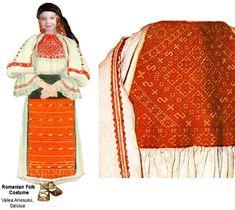 Folk Costume, Costumes, Folklore, Romania, Paper Dolls, Smocking, Embroidery Patterns, Kimono Top, Europe