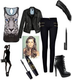 """""""The Eye of the Tiger"""" by caf2403 on Polyvore"""