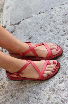 Assisi Sandals Sandali Donna Artigianali Pinterest