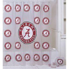 Alabama Shower Curtains Championship Home Accessories Alabama