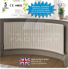 Radiators For Bay Windows From The Uks Specialists-Radiator Curving Ltd