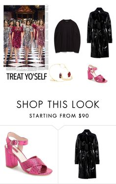 """#77"" by clairecnlp on Polyvore featuring mode, Topshop, Carven et treatyoself"