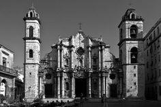 Baroque architecture in #Cuba  La Catedral de la Virgen Maria in #Havana