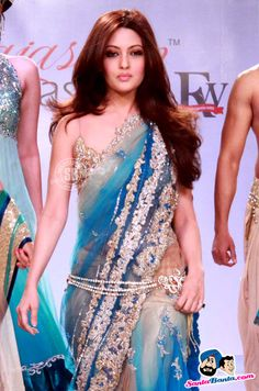 Riya Sen Picture Gallery image # 189762 at Rajasthan Fashion Week containing well categorized pictures,photos,pics and images. Indian Bridal Wear, Indian Wear, Asian Bridal, India Fashion, Asian Fashion, Ethnic Fashion, Indian Dresses, Indian Outfits, Saree With Belt