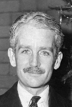 Timothy Bowes-Lyon, 16th Earl of Strathmore and Kinghorne...cousin of Queen Elizabeth...incredible eyes!