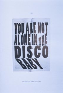 You are not alone in the disco baby.    http://sayhellotoanna.tumblr.com