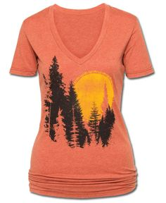 Whose Woods Are These Eco-Friendly T-Shirt at Soul Flower Clothing, $28.00
