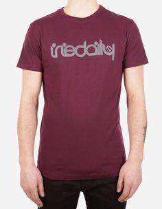 iriedaily - No Matter 4 Tee red wine