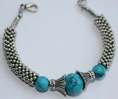 Bracelet Metal Jewelry, Beaded Jewelry, Handmade Jewelry, Beaded Necklace, Crochet Beaded Bracelets, Beaded Bracelets Tutorial, Bracelets For Men, Jewelry Bracelets, Girls Necklaces