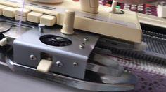 Процесс вязания сложного и фасонного ажура в одном изделии