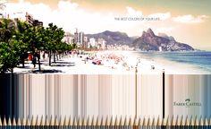 """""""人生のかけがえのないひと時""""を忠実に再現する色鉛筆の広告   ブログタイムズBLOG 【海外広告事例】"""