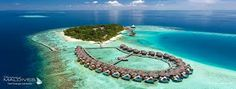 The Baros Maldives resort, which is perched on an island in the middle of the ocean, was named the best hotel for luxury Honeymoon Getaways, Maldives Honeymoon, Honeymoon Destinations, Best Hotels In Maldives, Maldives Resort, Romantic Resorts, Romantic Honeymoon, Romantic Proposal, Romantic Getaway