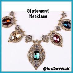 Statement Necklace Multicolor