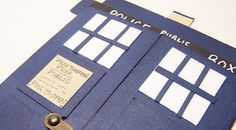 Dr. Who card from Stamp It With Jen