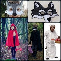 Little Red Riding Hood Costume Inspiration