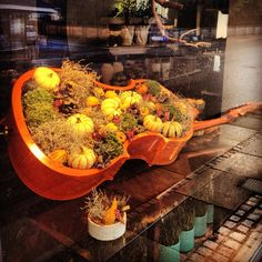 fall display in shop - Google Search