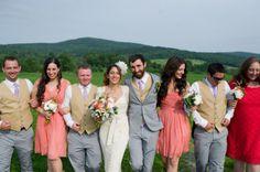 Handmade Rustic Wedding |  Kaylan Buteyn Photography on Oh Lovely Day