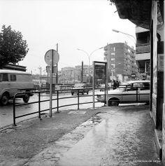 Telletxe kalea, Juan Bautista Zabala kaleko kantoian / Calle Telletxe, esquina con Juan Bautista Zabala, 1978 (Colección Eugenio Gandiaga) (ref. 06194)