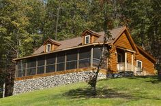 Luray Virginia Vacation Rentals   Kalmia Log Cabin In Shenandoah Woods: Mtn  Views!