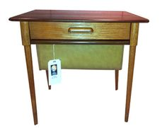 Mid 20th Century Danish Sewing/Hobby Table