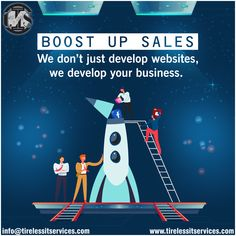 Want to boost your sales. Ask us how? Visit : www.tirelessitservices.com , Contact : 1.844.313.0904. #boostSales #websites #ecommerce #webdeveloper #BusinessStrategy #DigitalMarketing #marketingagency