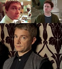 Before They Were 2012 Emmy Nominees: Zooey Deschanel, Benedict Cumberbatch and more: Martin Freeman