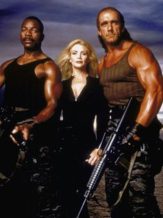 Hulk Hogan, Carl Weathers, and Shannon Tweed team up for Assault on Devil's Island (1997)