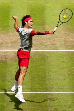 Roger Federer Halle 2014
