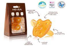 Hevea Star & Moon Pacifier