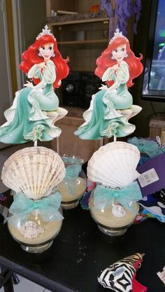 Ariel centerpieces